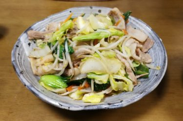 Japanese-home-stir-fried vegetables   healthy recipes in Japanese cooking