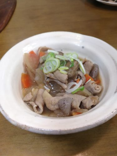 A tasty pork giblets stew :Motsu-Ni | home cooking recipes from Japanese kitchen