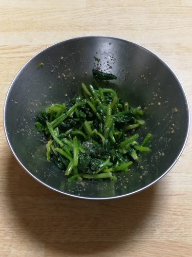 Spinach with Sesame | vegan recipes from Japanese kitchen