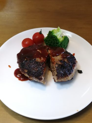 Japanese style Hamburg Steak | Home cooking recipes from Japanese kitchen
